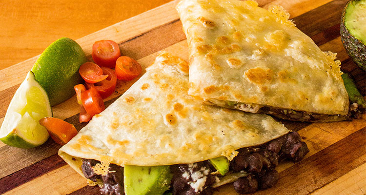 better bean quesadilla