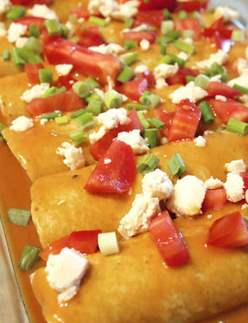 Vegan Enchiladas with Better Beans