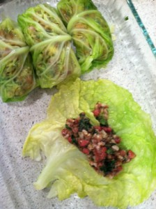 BB Cabbage Roll assembly